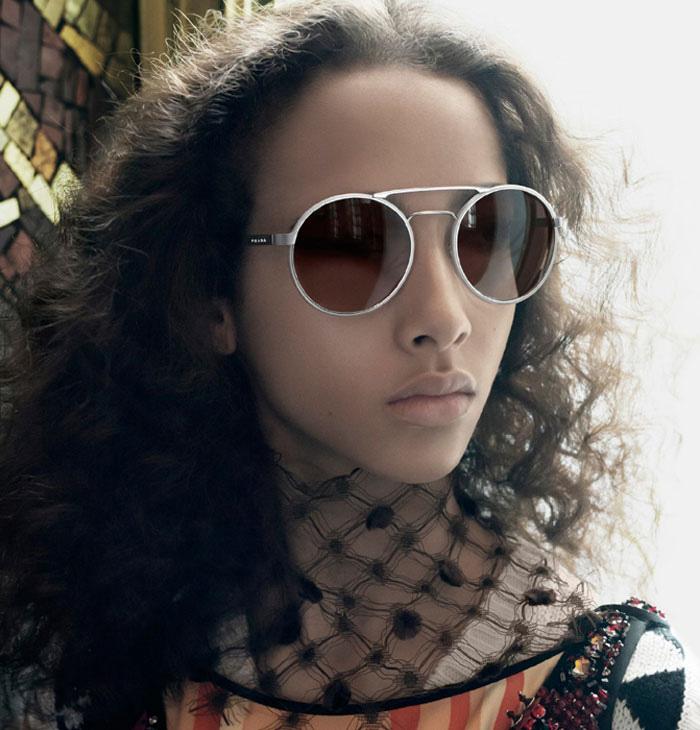 Модные очки и оправы Prada в новой коллекции весна-лето 2016