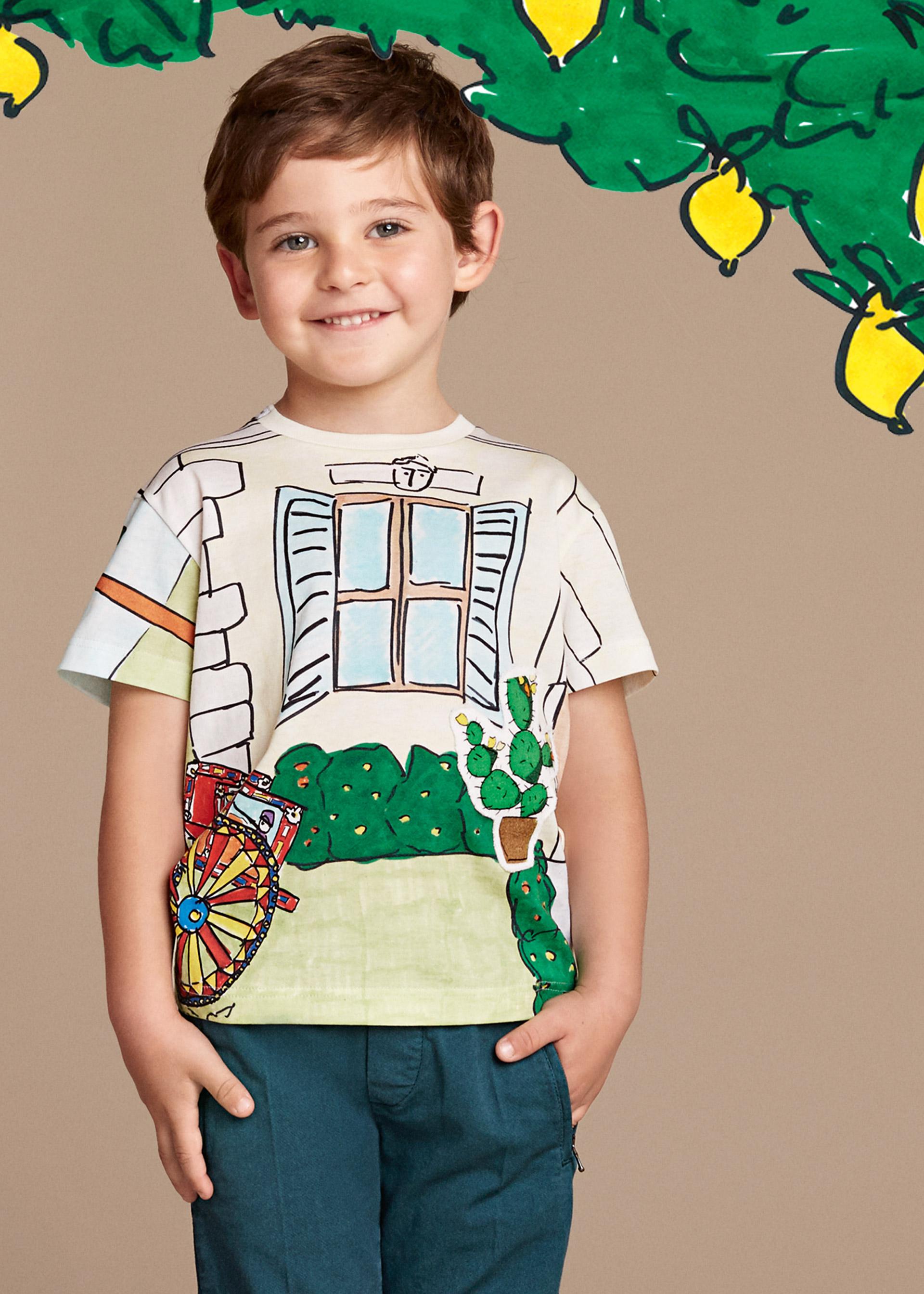 Новая коллекция для детей 2016 - футболка с детским рисунком.