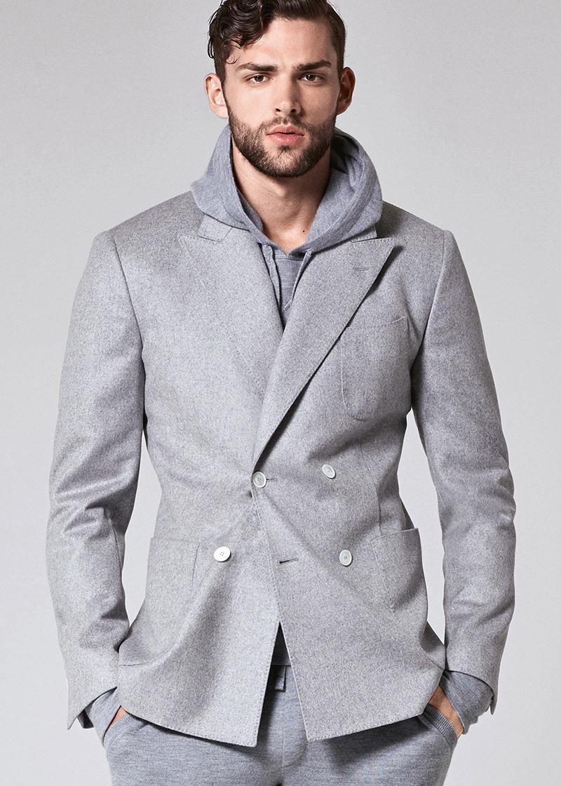 Джинсовый серый пиджак из коллекции Dolce&Gabba.