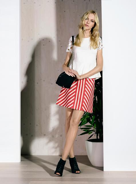 Новый модный LookBook весна-лето 2016 Karen Millen - повседневный наряд.