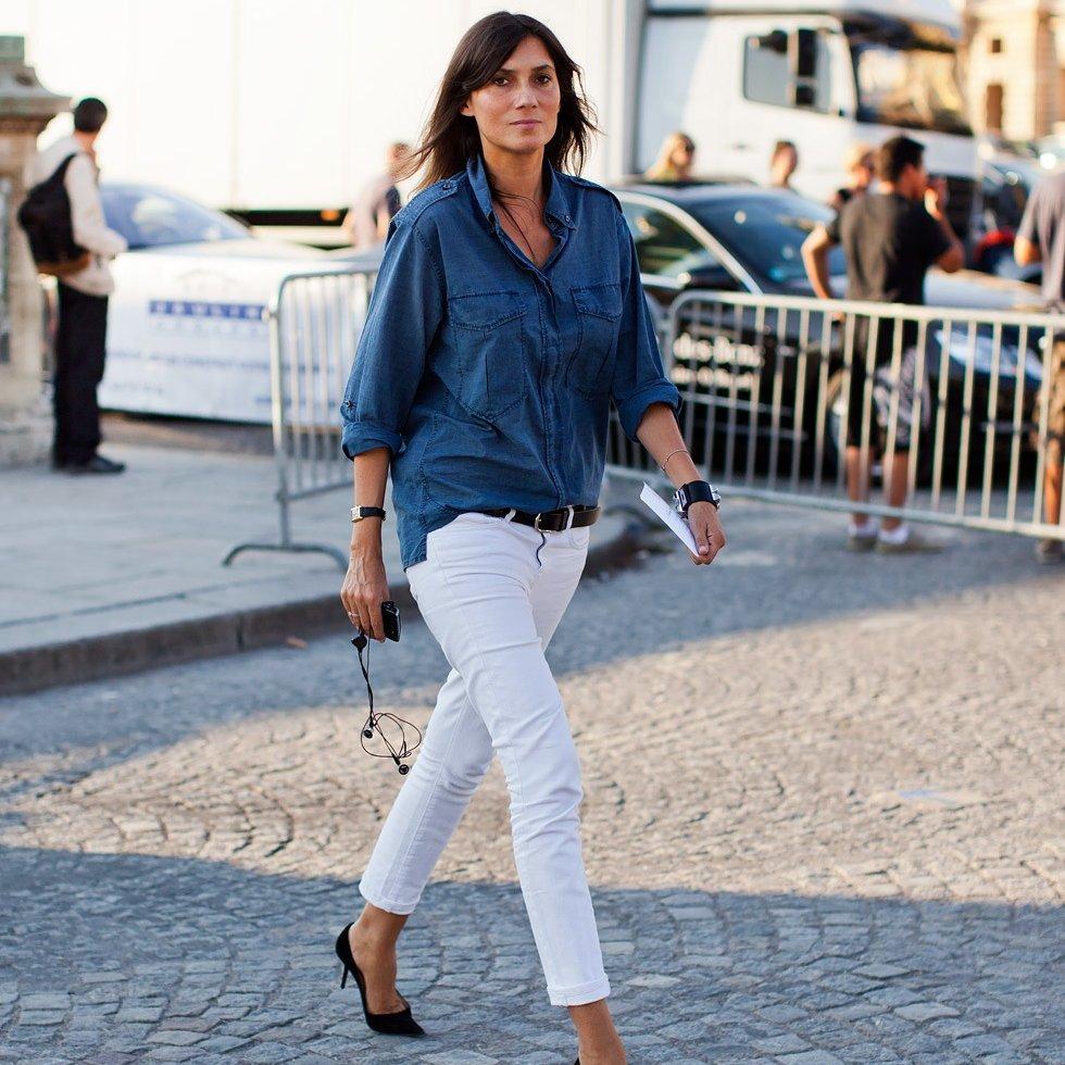 Хит этой весны – джинсовая рубашка.