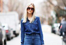 Короткие джинсы кюлоты – тренд сезона. 20 свежих образов.