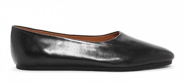 Туфли на сплошной подошве черного цвета из коллекции Topshop.