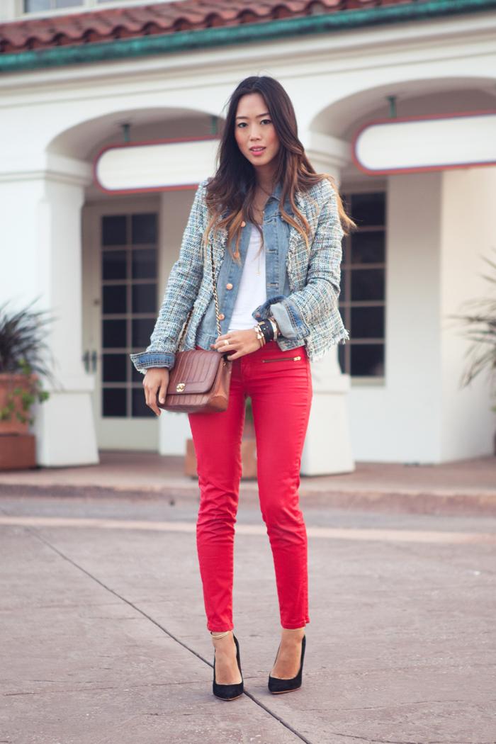 Модний тренд літа 2016  червоні брюки (фото) - Жіночий журнал ... 2c8b780861890