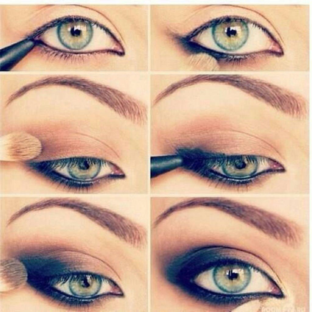 На фото: тени для зеленых глаз.