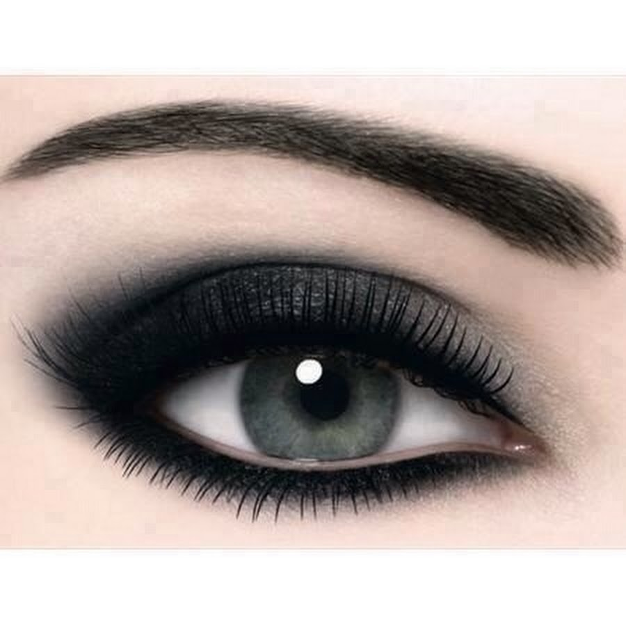 На фото: тени для сероых глаз.- розовый цвет теней.