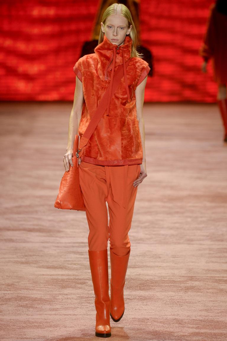 Мода осени 2016 - фото обзор трендов из коллекции Akris.