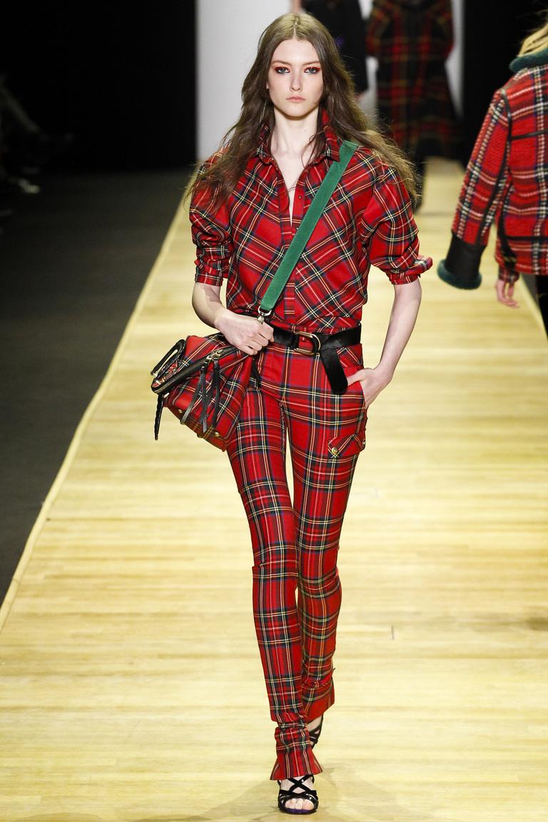 Мода осени 2016 - фото обзор трендов из коллекции Barbara Bu.