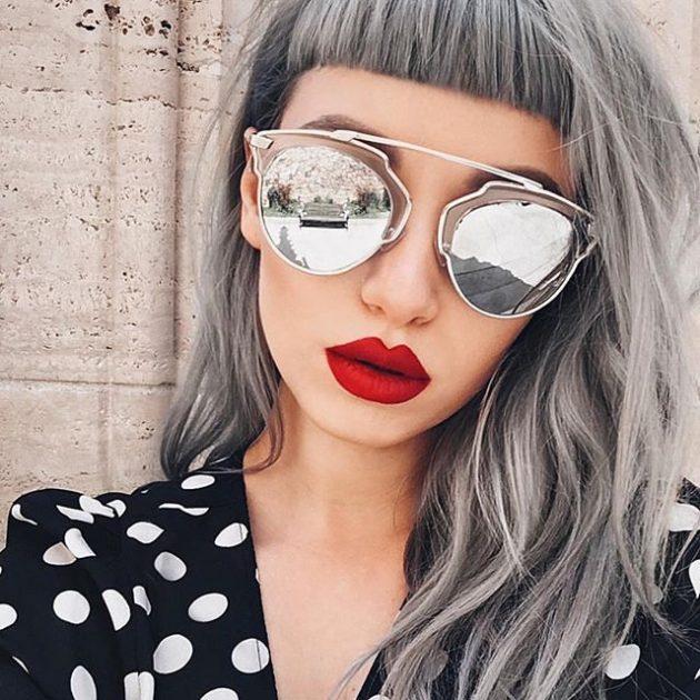 Модные солнечные очки 2016: с зеркальным эффектом.Модные солнечные очки 2016: с зеркальным эффектом с перемычкой на переносице.