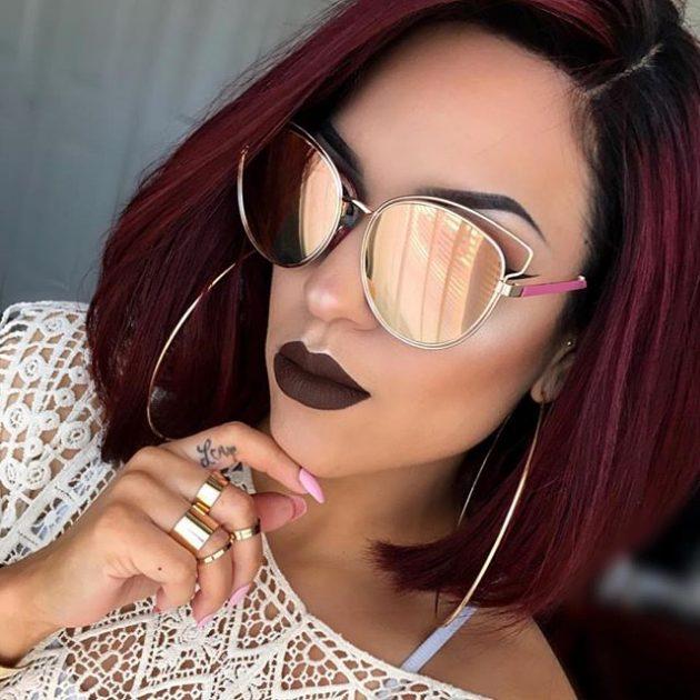 Модные солнечные очки 2016: с зеркальным эффектом.