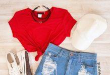20 новых летних луков с джинсовыми шортами