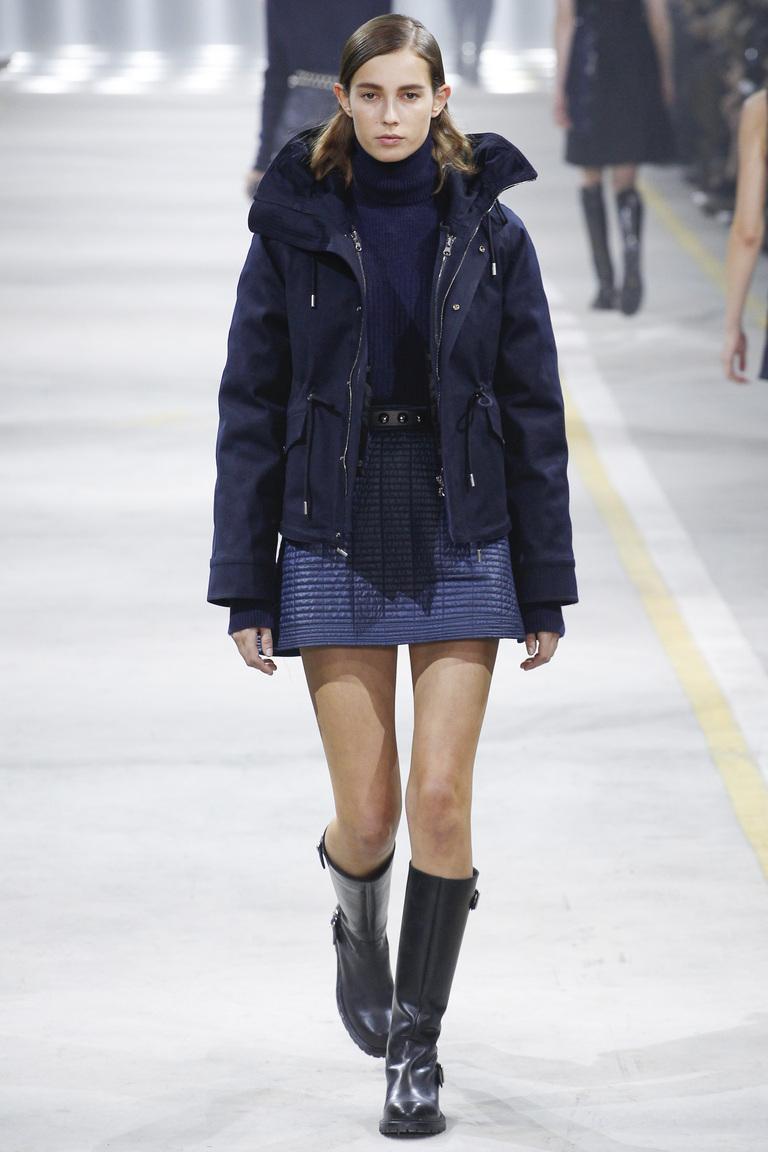 Модная одежда сезона зима 2017 - куртка , фото обзор из коллекции Diesel-Black-Gold .