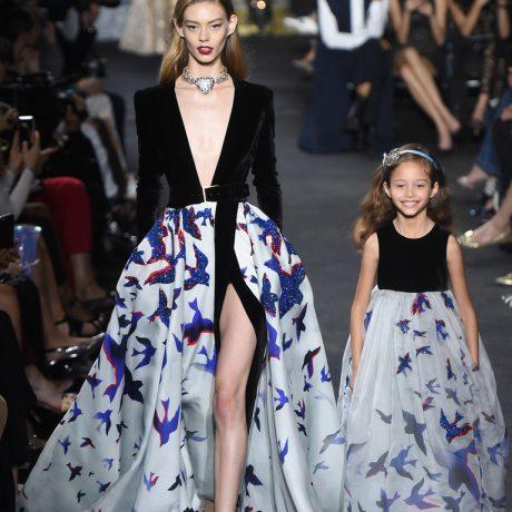 Показ коллекции Elie Saab: роскошные вечерние платья