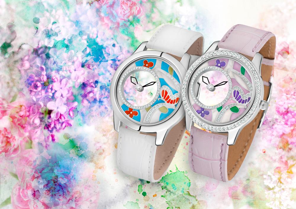 Модные украшения; часы Mystery Joy, выполненные ювелирным домом НИКА - тренды сезона.
