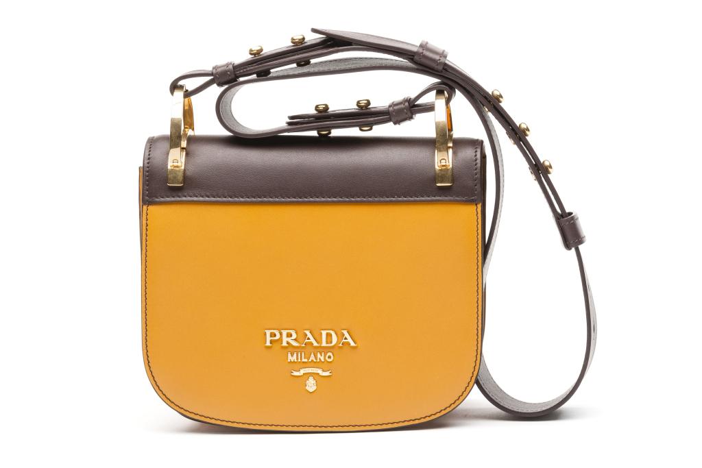 На фото: маленькая сумочка - новинка сезона из коллекции Prada.