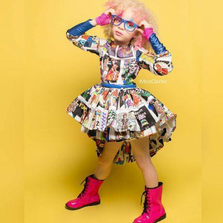 Супер-модель Ава Кларк — девочка альбинос покорила весь мир