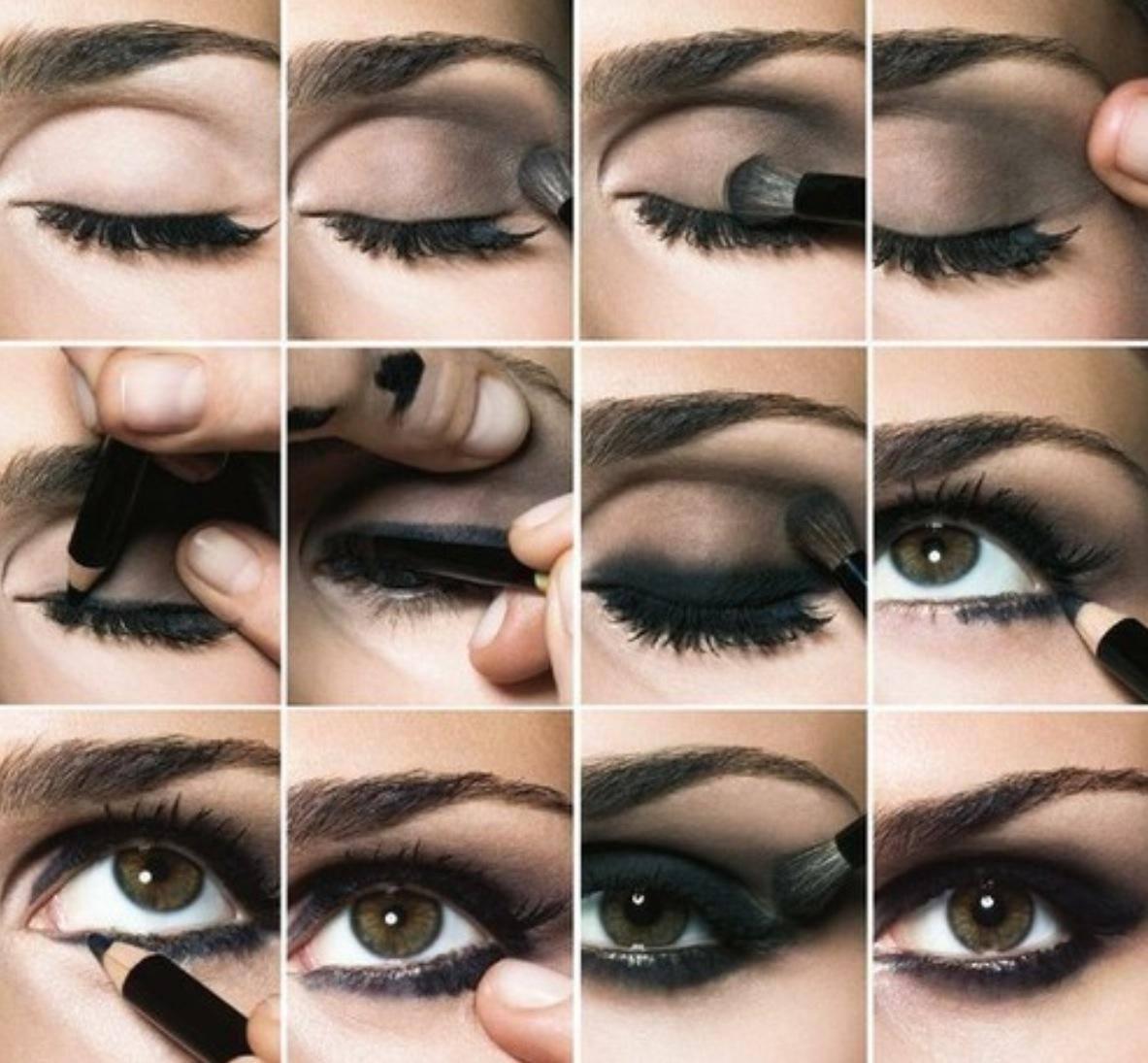 Секреты макияжа для карих глаз