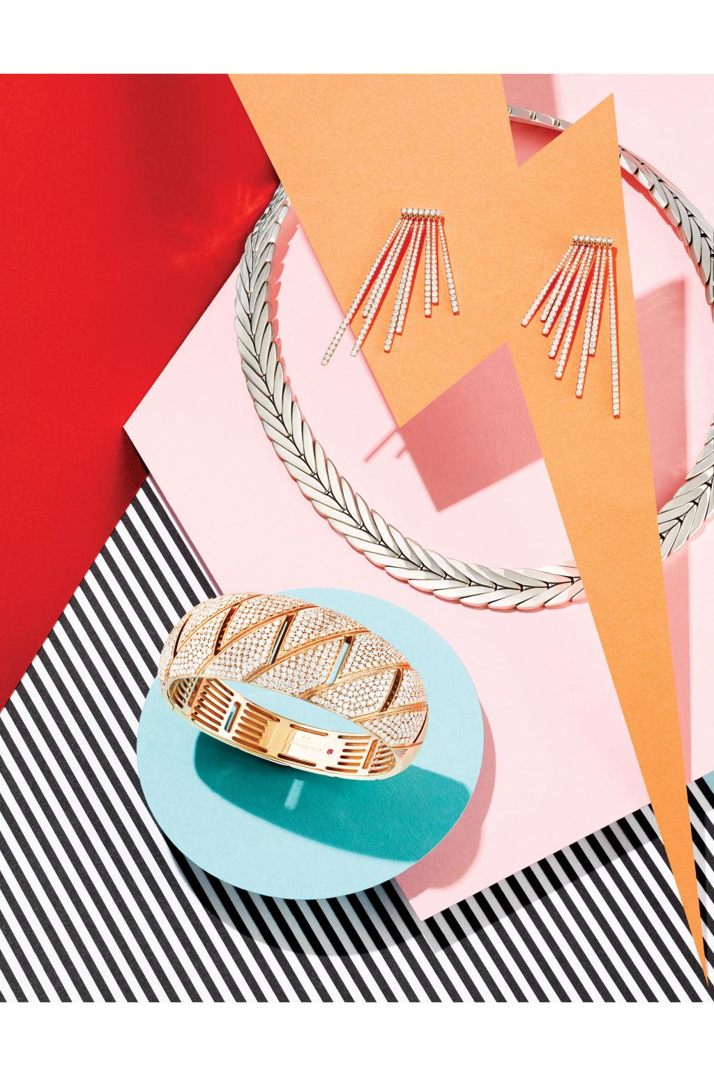Модные украшения: кольцо, браслет, серьги - тренды сезона..