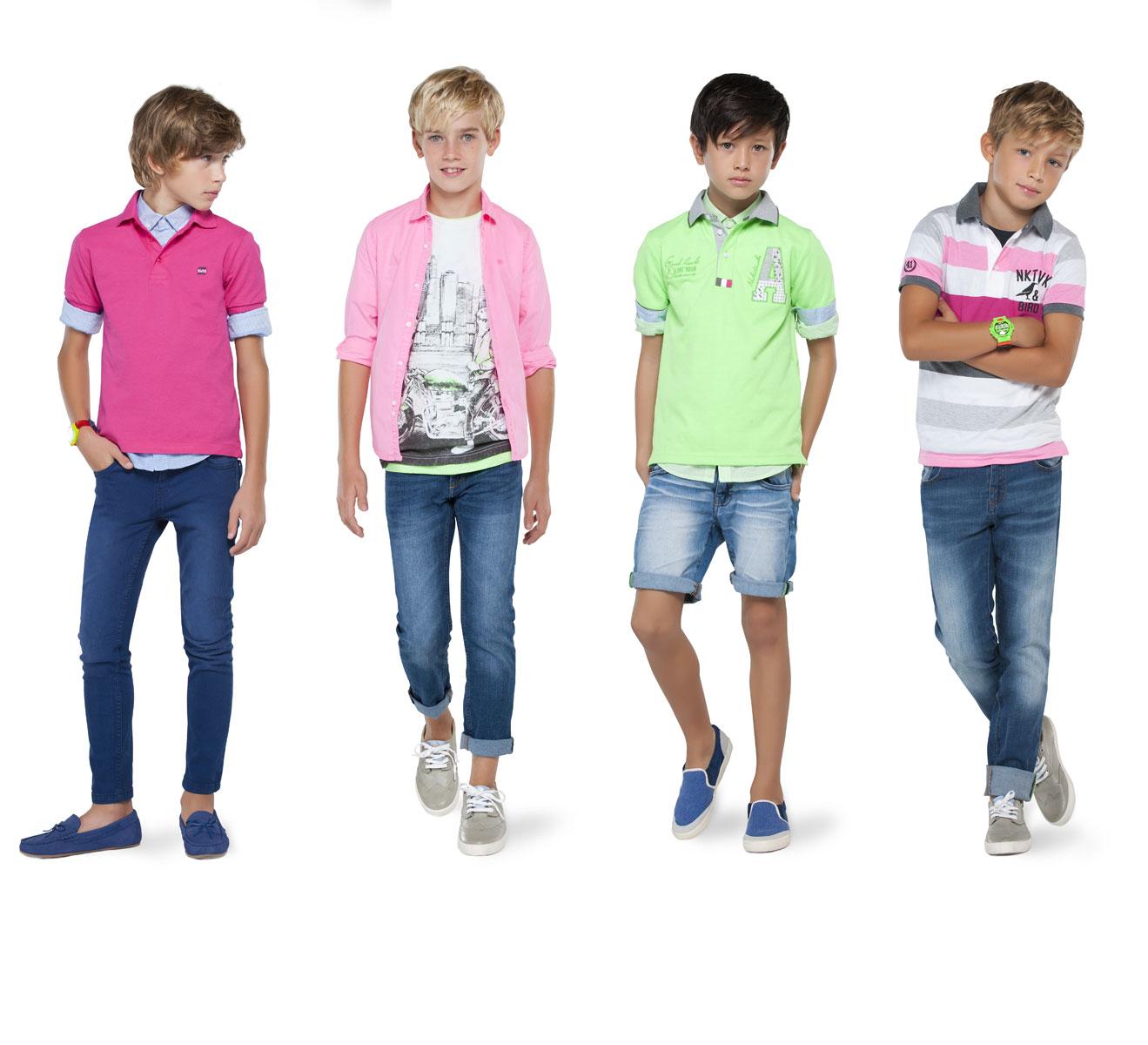 На фото: новая коллекция Mayoral для подростков - мальчиков.