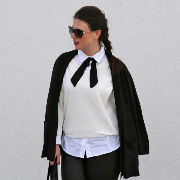 На фото: модный блоггер plus size Ashley Rose.