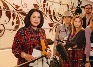 Надежда Бабкина представляет зимнюю коллекцию одежды класса Luxe