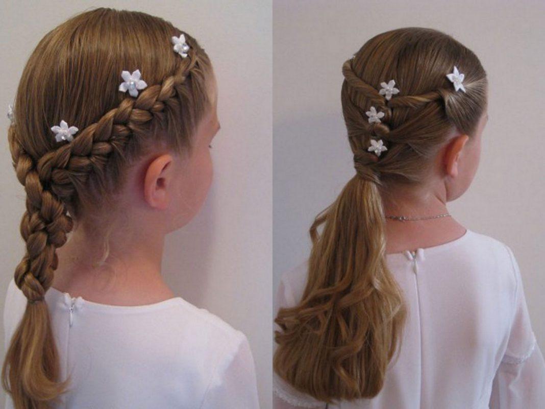 Прически для девочек на длинные волосы 12 лет фото