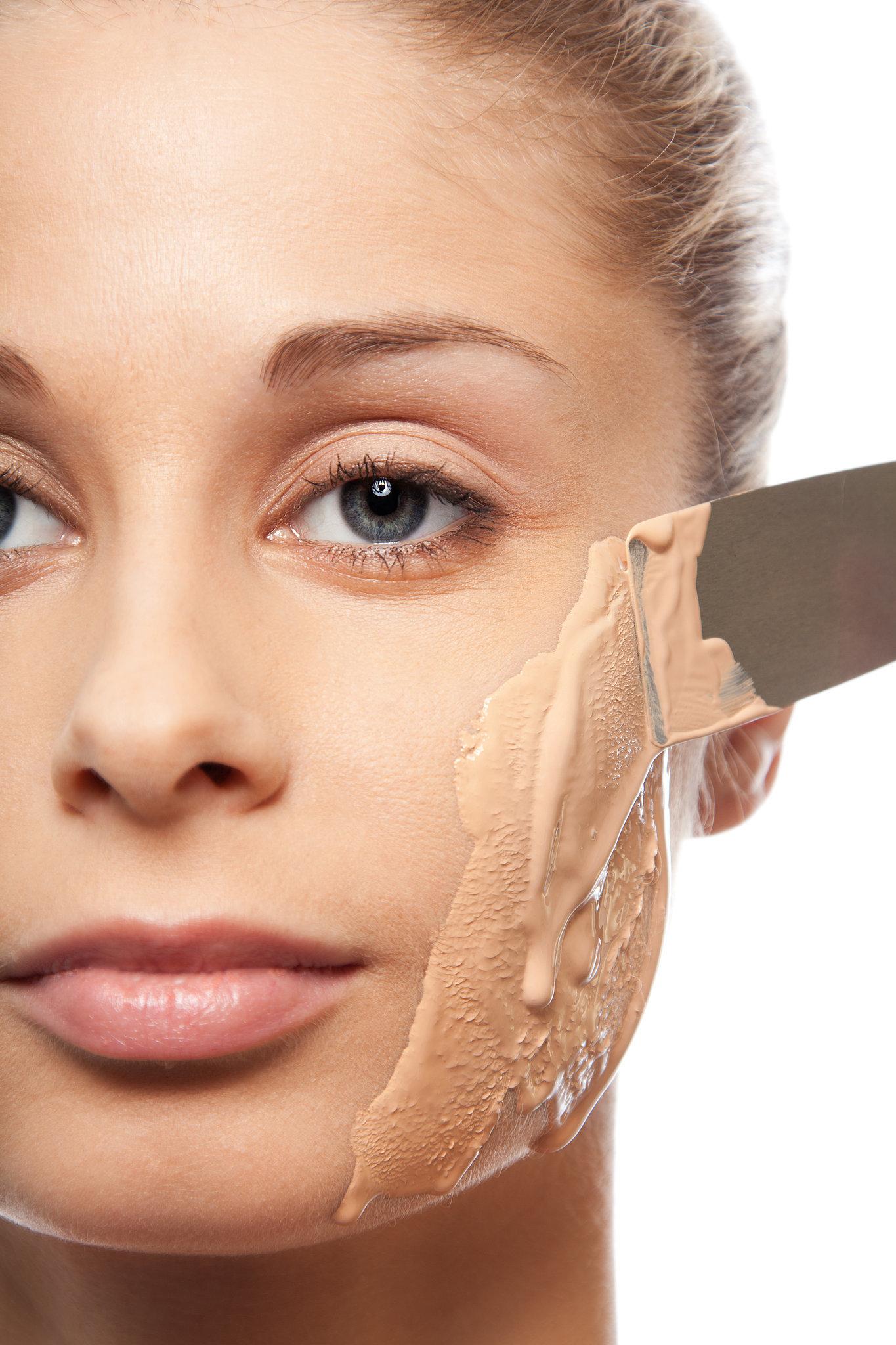 Как сделать чтобы лицо было матовым