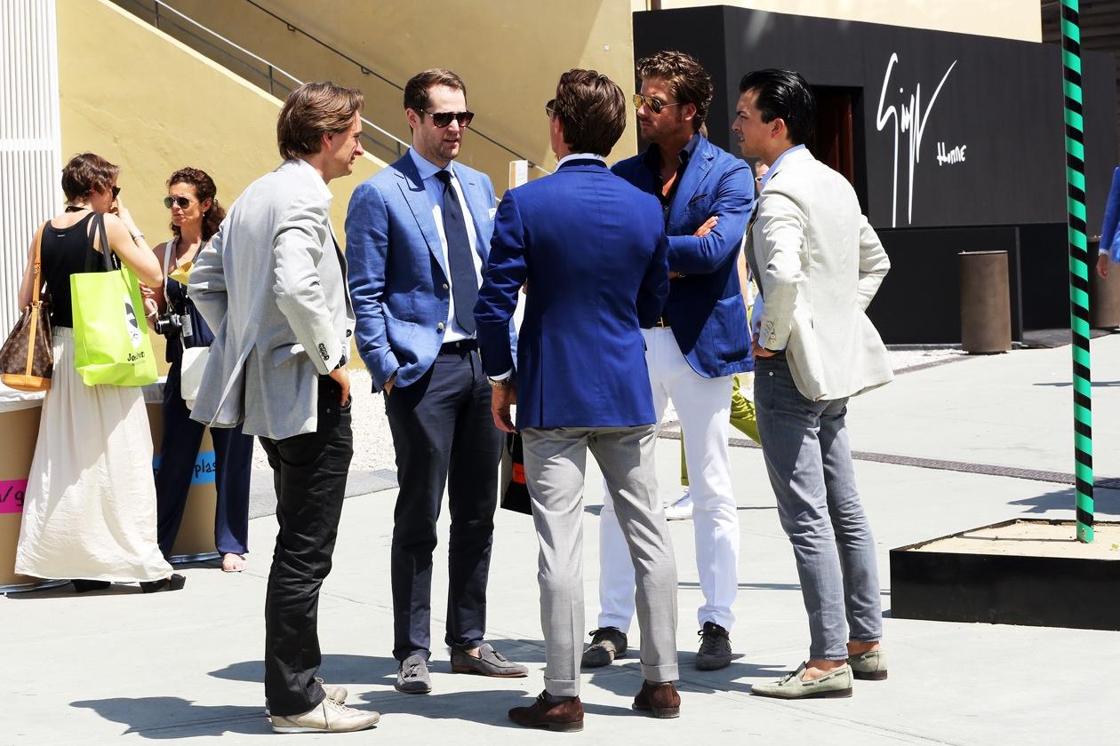 На фото: итальянский стиль одежды: только дорогое качество!