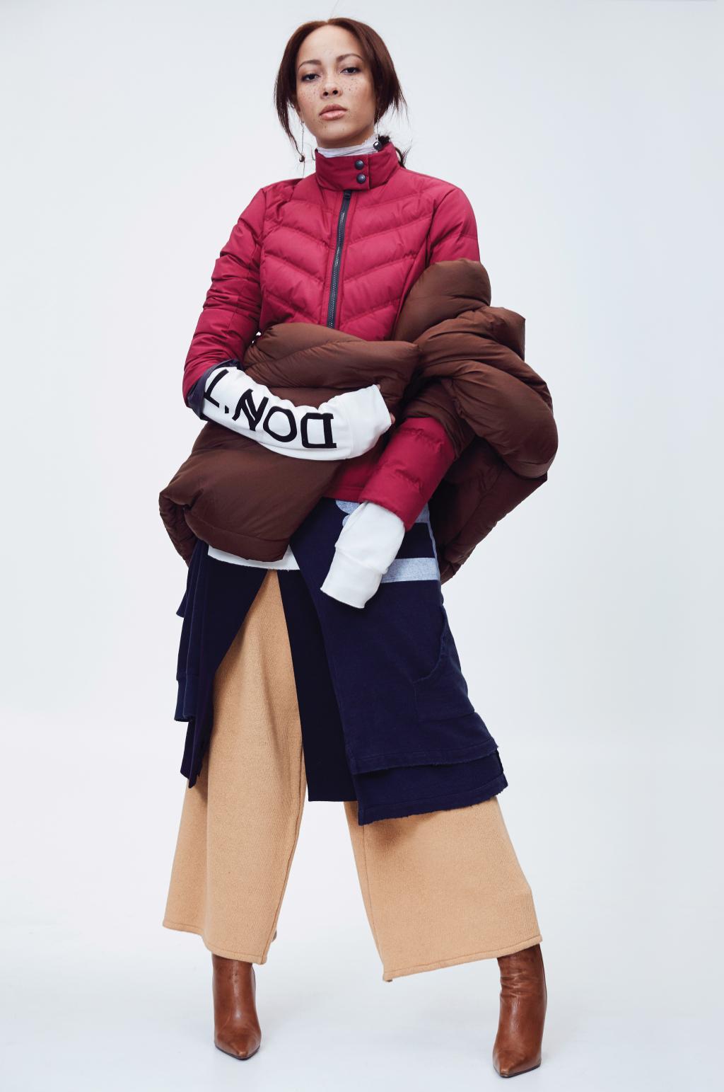 На фото: дутая куртка – тренд осени и зимы.