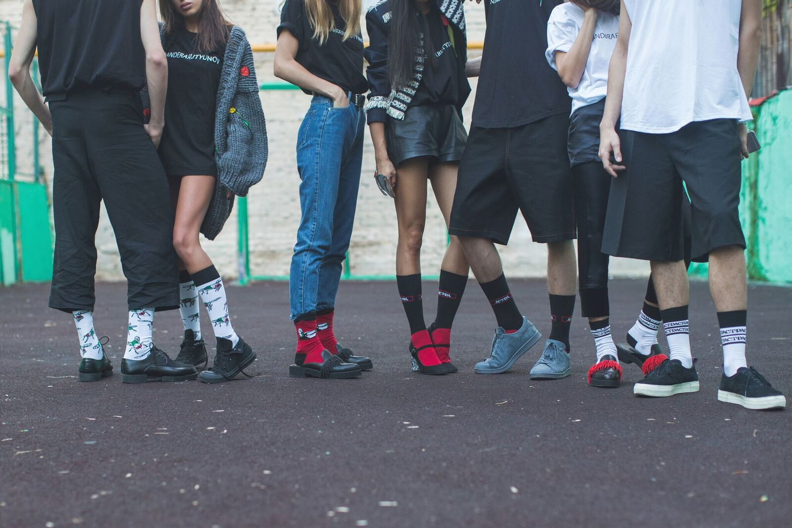 Модные носки от ARUTYUNOV