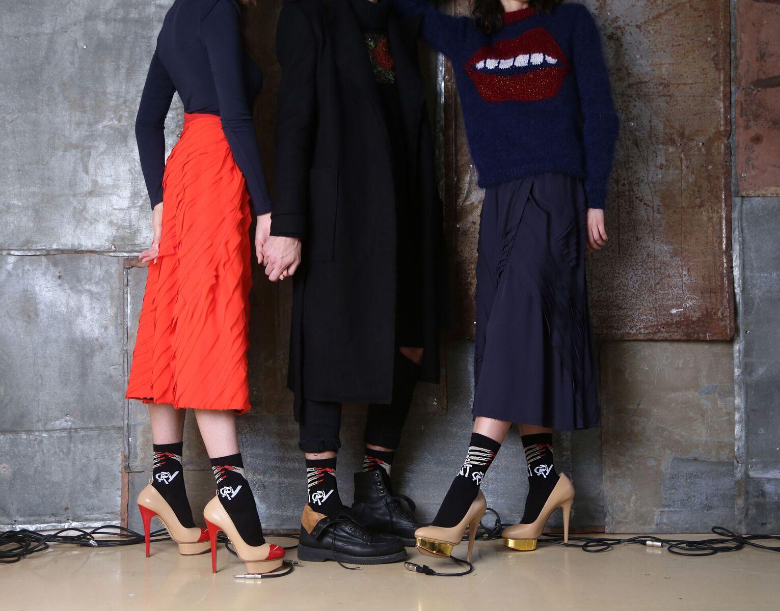 Дизайнерские носки от DANIIL ANTSIFEROV