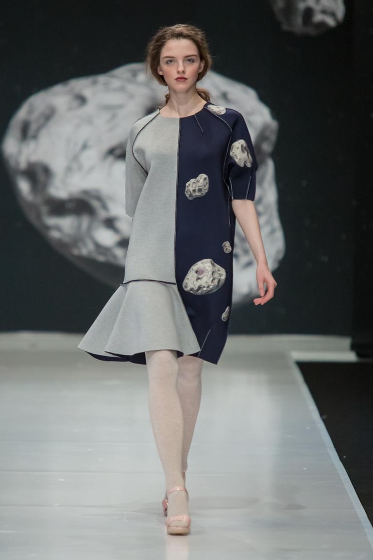 На фото: модный цвет одежды сезона осень-зима 2016-2017 из коллекции  Sergey-Sysoev.
