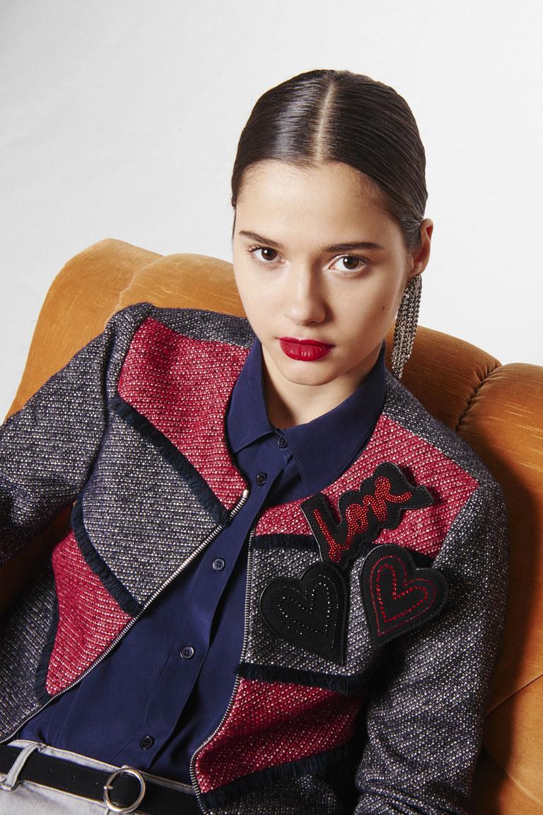 На фото: модный цвет одежды сезона осень-зима 2016-2017 из коллекции  Sonia-by-Sonia-Rykiel.