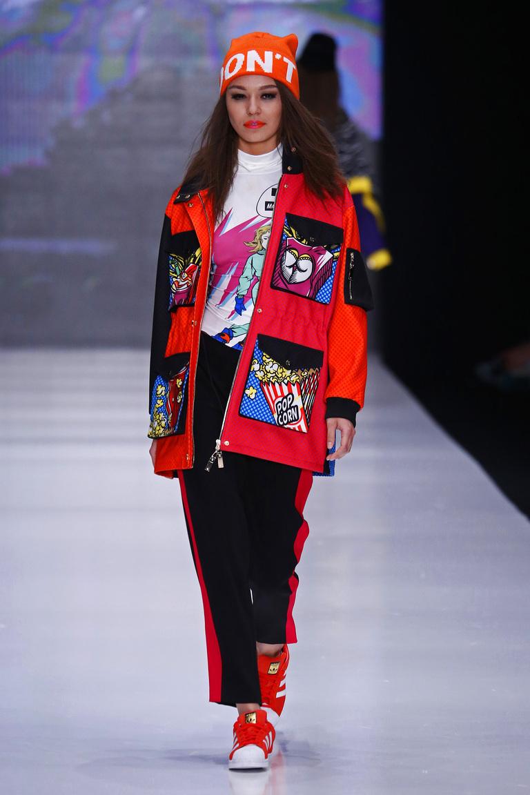 На фото: модный цвет одежды сезона осень-зима 2016-2017 из коллекции Vika-Smolyanitskaya.