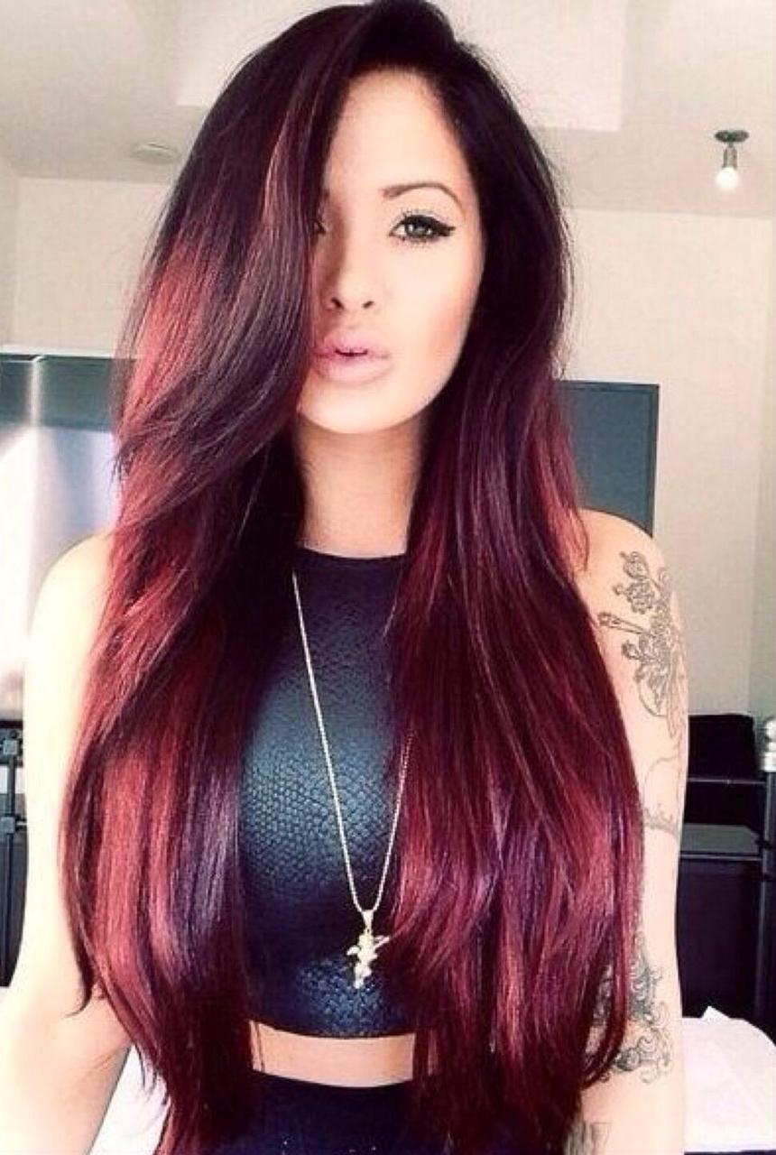 Окрас цвета волос
