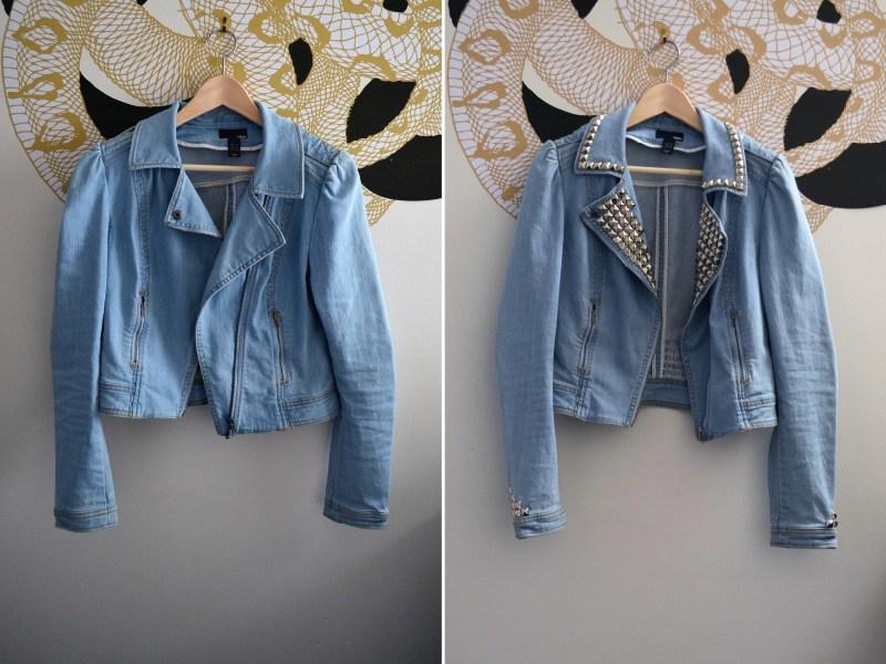 Переделываем старую джинсовку: декорируем