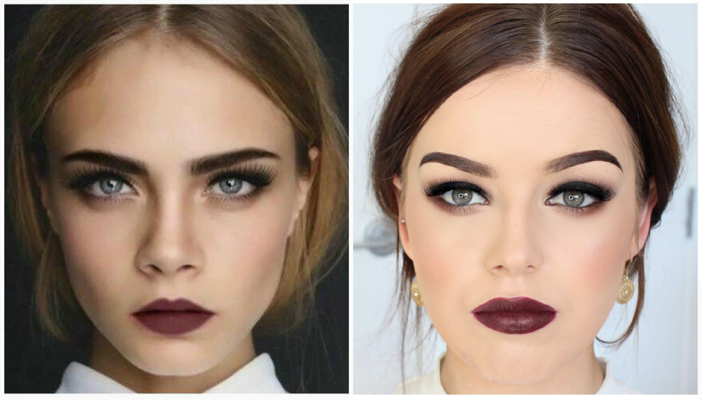 На фото: макияж осень-зима 2016-2017.