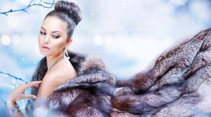 Шуба - маст-хэв российской модницы Суханкиной