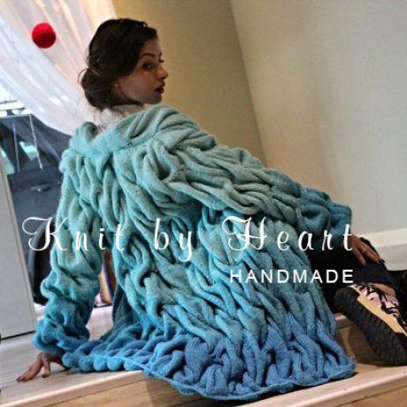 Кардиган в стиле Лало от Knit by Heart