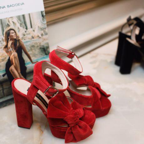 Жанна Бадоева презентовала обувной бренд в Москве
