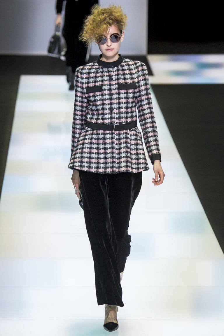 Модные пиджаки осень 2016 и зима 2017 фотообзор коллекции Giorgio-Armani.