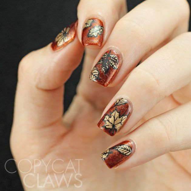 gold-leaves-nail-stamping-3-630x630