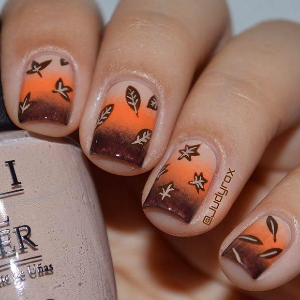 Осенний маникюр, или как победить унылую осень и хандру
