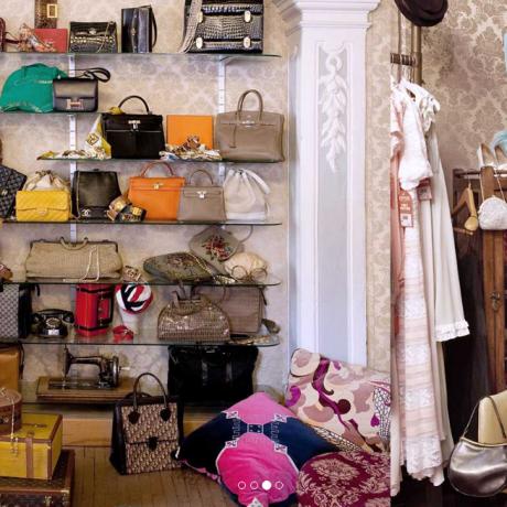 Бутик винтажных вещей известных брендов с 1900 по 1990 год