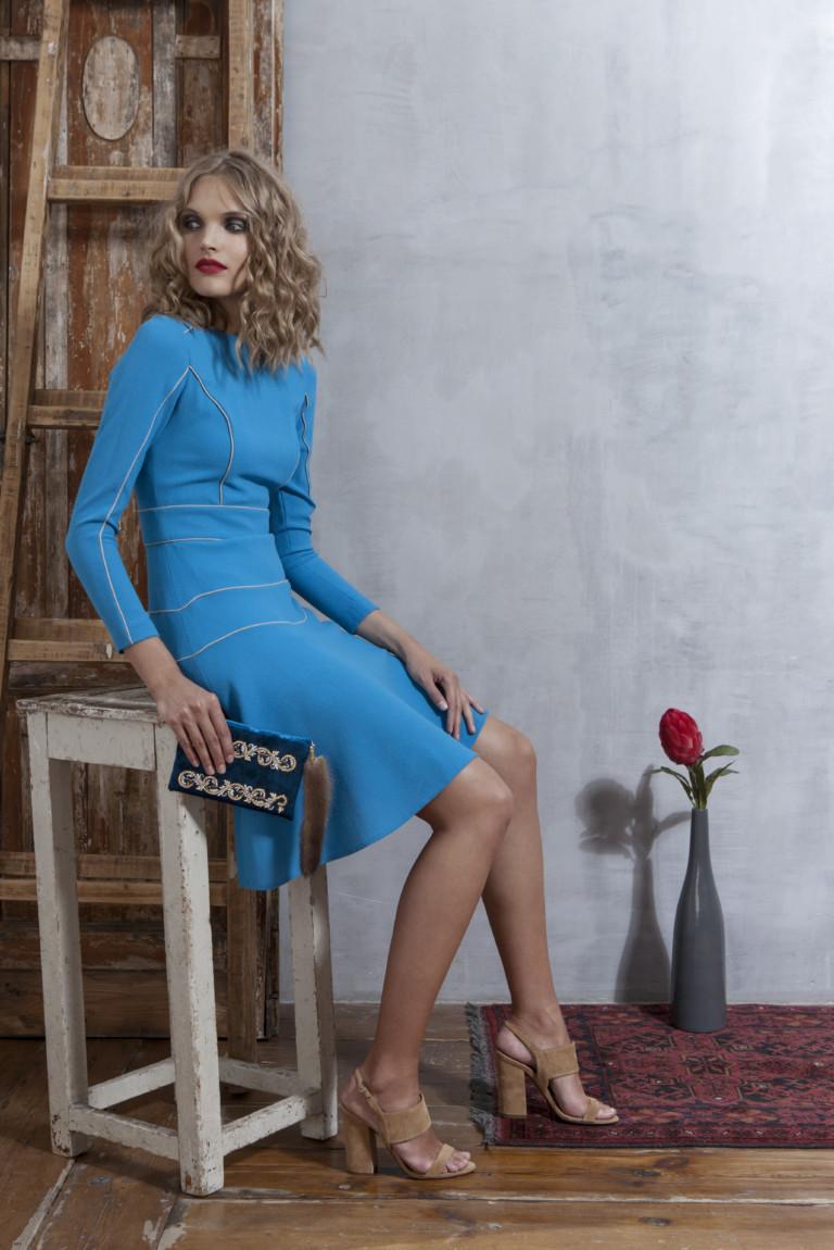 На фото: яркие новинки сезона - платье из коллекции Valevskaya.