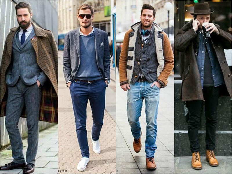Сочетание мужских джинсов с обувью