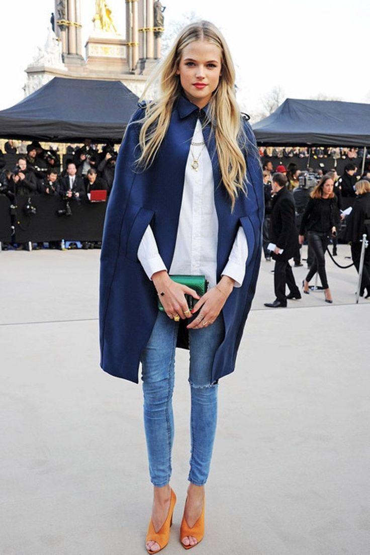 Модные в 2017 году джинсы скинни с прорезями на коленках