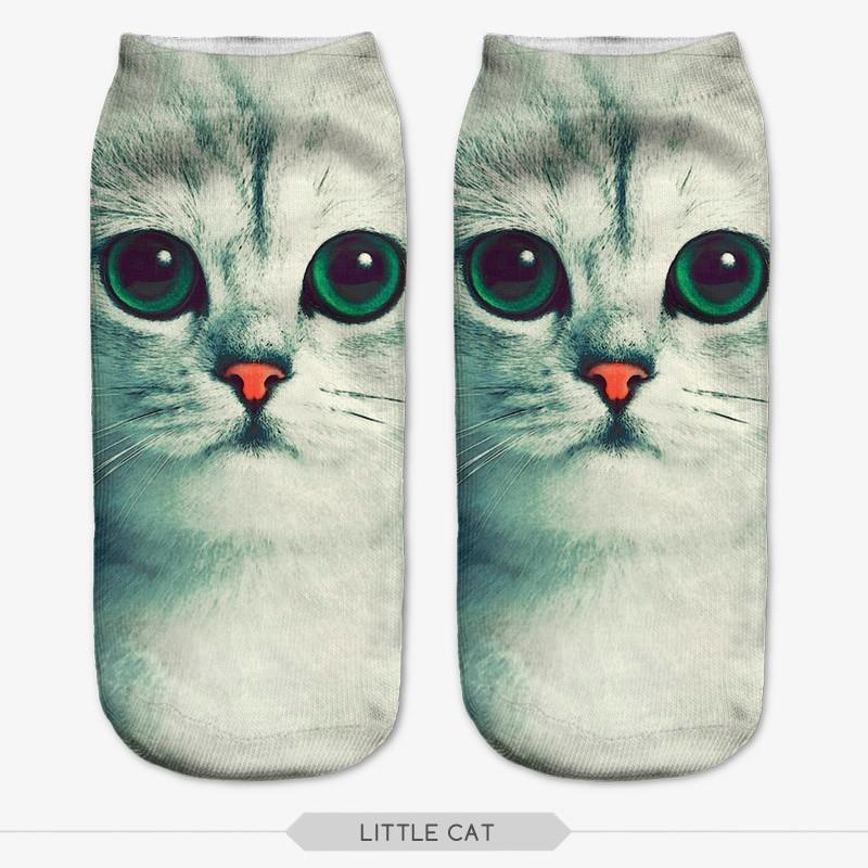 Веселые носки с рисунком животных