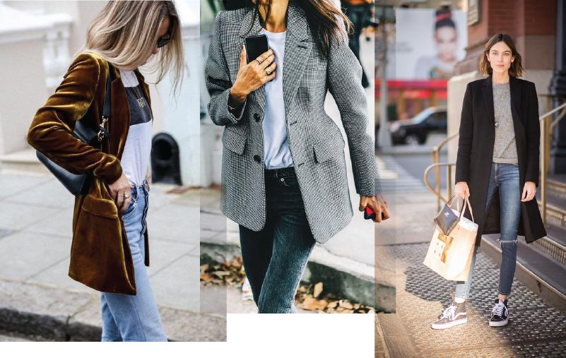 Удлиненные пиджаки