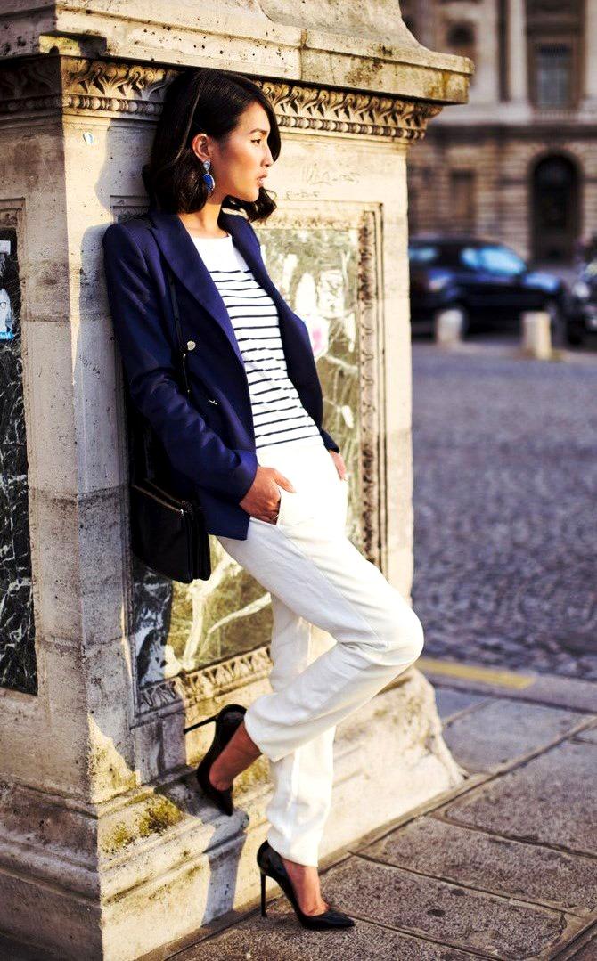 Укороченные пиджаки: с чем носить